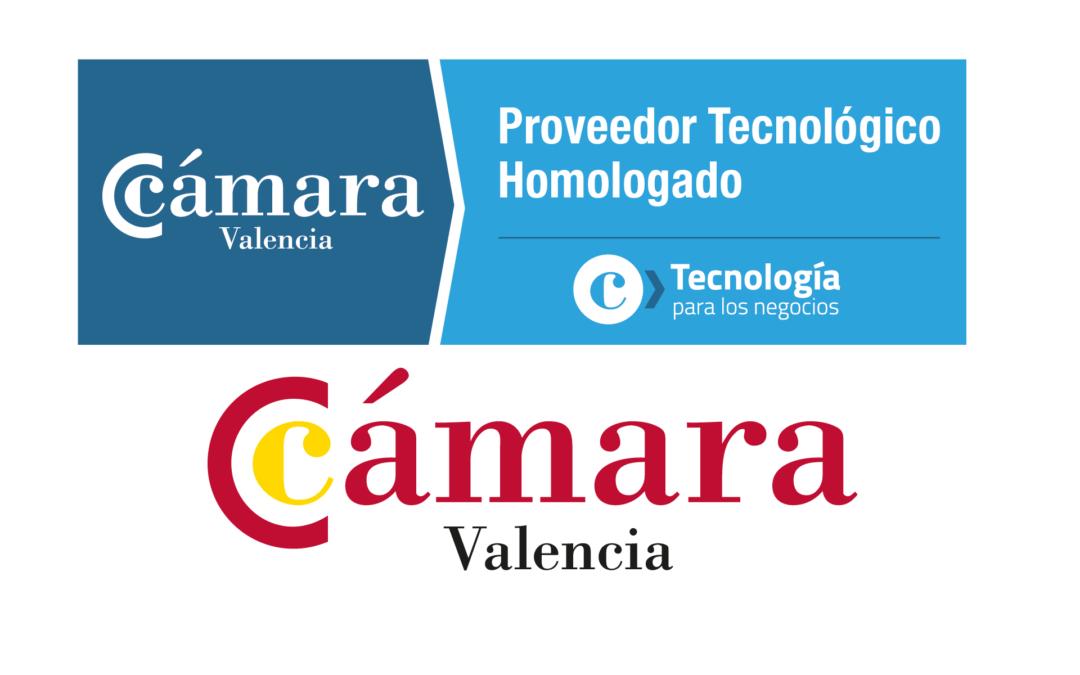 EXOS, Proveedor Tecnológico Homologado de la Cámara de Comercio de Valencia