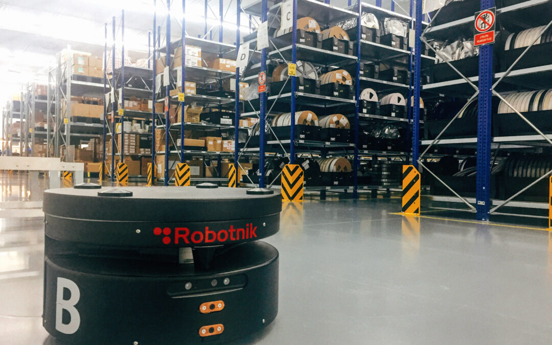 EXOS participa en el proyecto LogiBlok: Control de flotas de robots para almacén